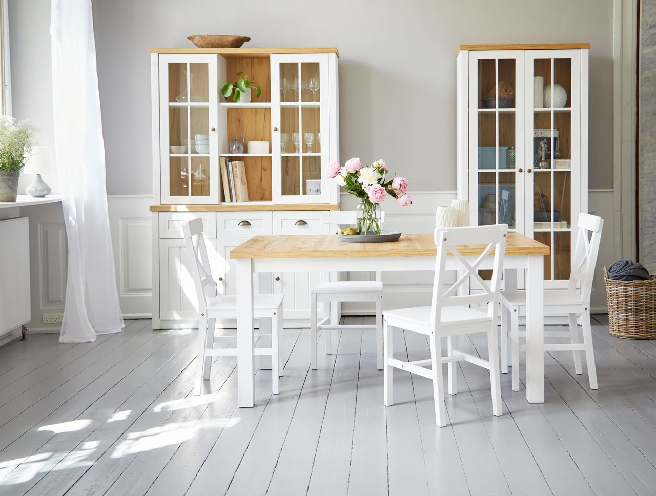 dining table jysk  diningbistro table ringsted d60 white